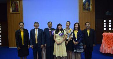 การประเมินคุณภาพการศึกษาภายในระดับหลักสูตร ประจำปีการศึกษา 2561 สาขาวิชาภาษาไทย