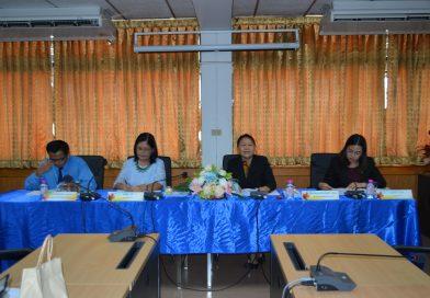 การประชุมคณาจารย์คณะมนุษยศาสตร์และสังคมศาสตร์ ครั้งที่ 1/2563